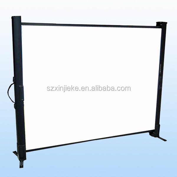 portable rear projection screen Manufacturers of audio visual equipment, front projection screens, rear projection screens, portable projection screens, fixed screens, home theatre screens, projector mounts, plasma mounts, lcd mounts, dlp mounts, aero mounts, projection screens.