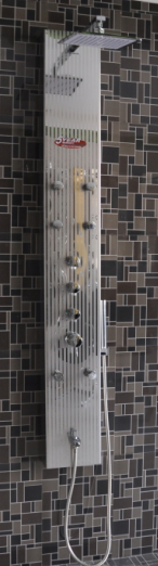 Luxury 304 Stainless Steel Shower Panel Manufacturer In China