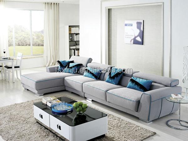 2015 muebles antiguos livign sala de sofá de la tela/francés ...