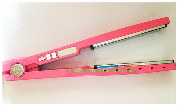 Утюжок для выпрямления волос OEM 12pcs/lot 1 1/4 PRO Nano Drop 1 1/4 hair iron