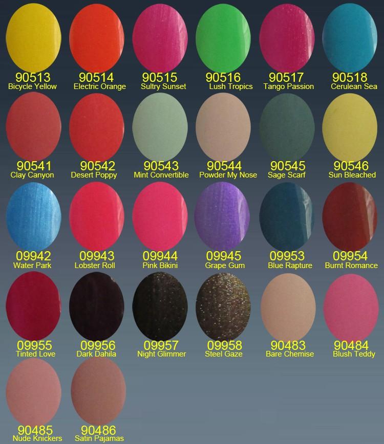 shellac 26colors