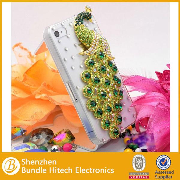 2014 wholesale fashion rhinestone phone case, for iphone case