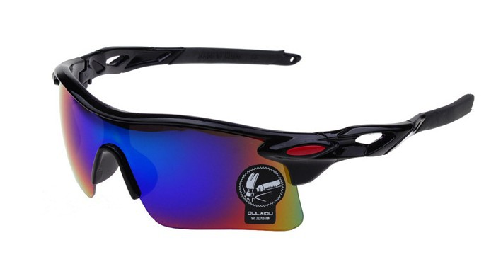 2014 New Brand Designer Black Cycling Glasses Men Women Outdoor Bike