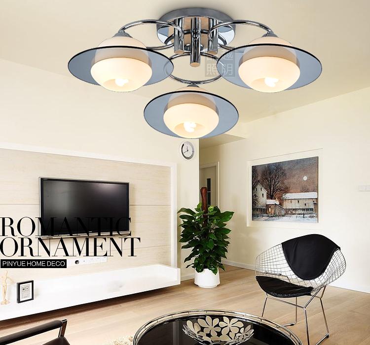천장 조명 제품 더 현대적인 미니멀 한 거실 램프 침실 램프 조명 ...