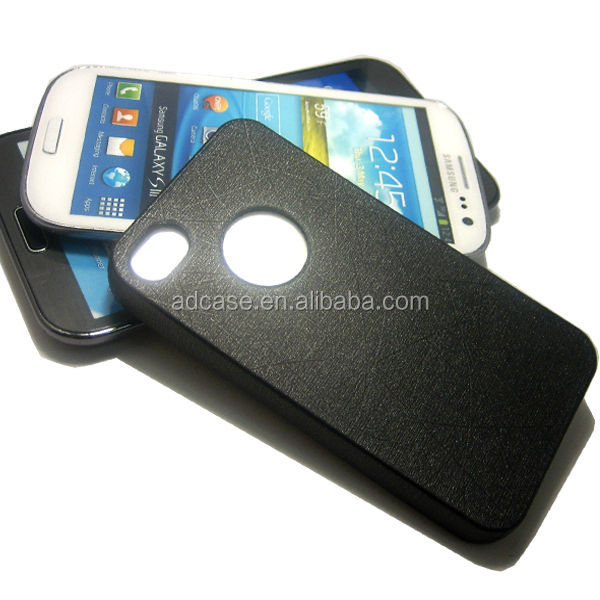 Soft fancy TPU PU leather cell phone case for iphone 4g 5g