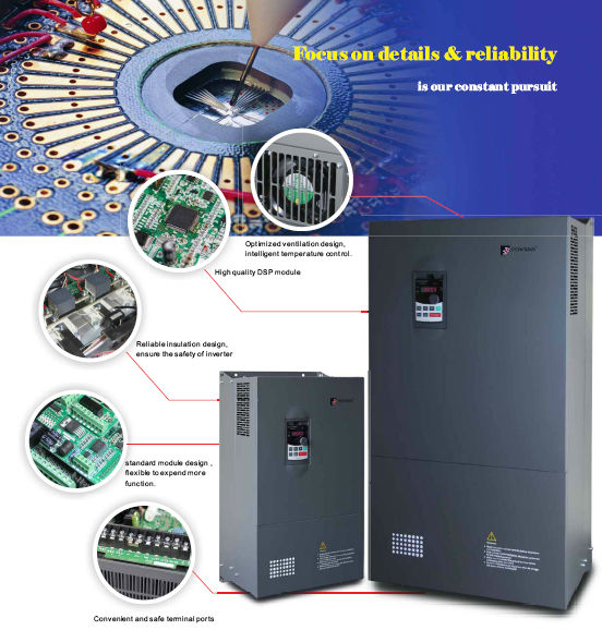 Industrial General Use 0 4 1000kw Frequency Inverter