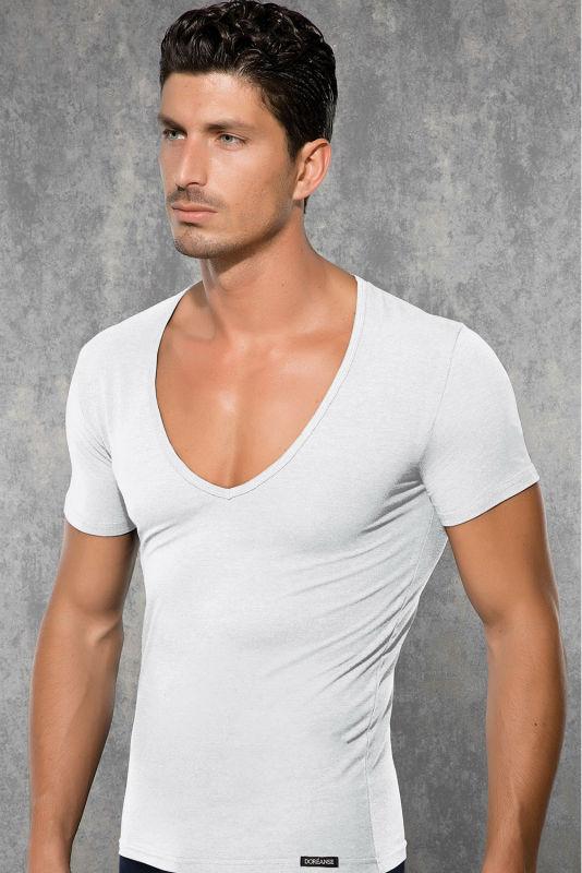 Mens Scoop Neck T Shirts