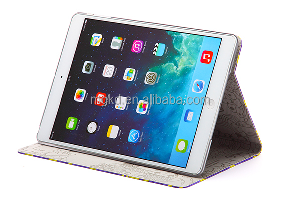 2014 newly pushing out MR.BOX PU leather case for ipad case