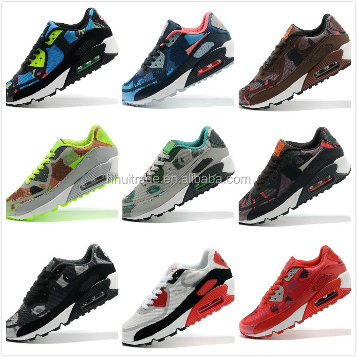 Black with grey men running boot and shoes sales air running shoes 90 styles prem max quality sports shoes manufacture