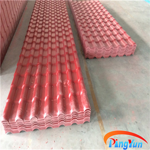 Europe Type Synthetic Resin Roof Tiles For Residence S