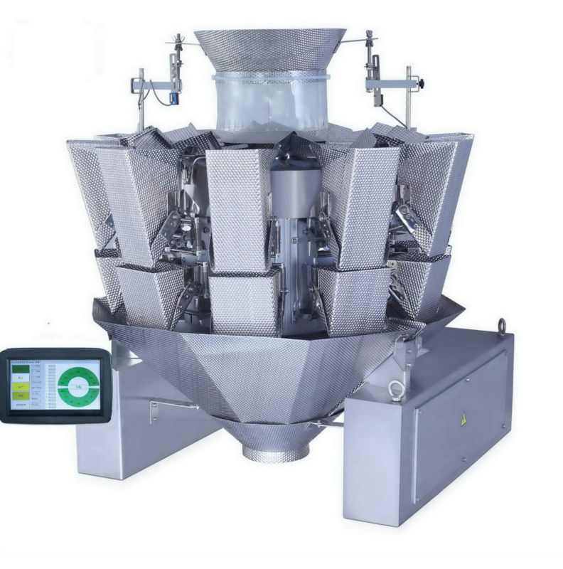 10 heads dimpled buckets multi head combination weigher JY-10HDT