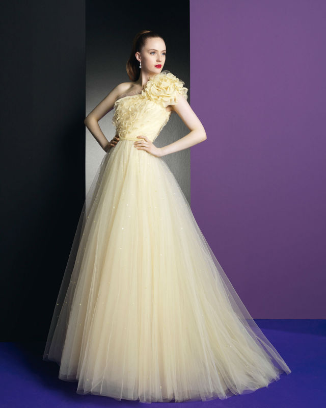 Old Fashioned Yellow Bridal Gowns Inspiration - Ball Gown Wedding ...
