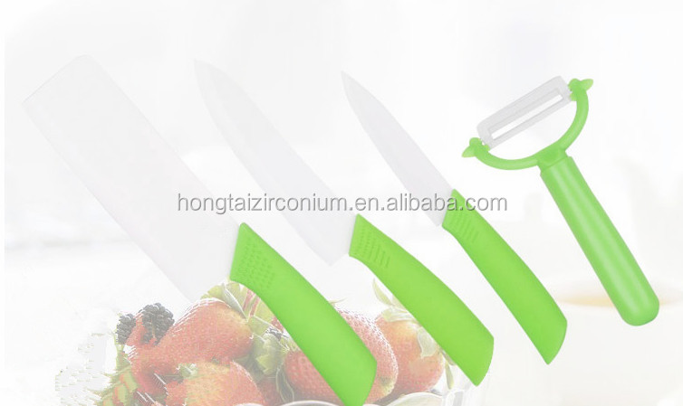 Competitive Price high quality zirconia ceramic knife set kitchen ceramic knife