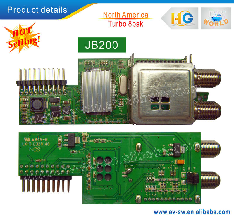 LS-500 Module 8psk module board ForAZLINK HD S1 ilink 9800&Limesat HD&Linkbox8000 HD Plus satellite receiver