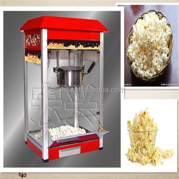 professionnelle machine popcorn lectrique popcorn machine de fabrication machine pop. Black Bedroom Furniture Sets. Home Design Ideas