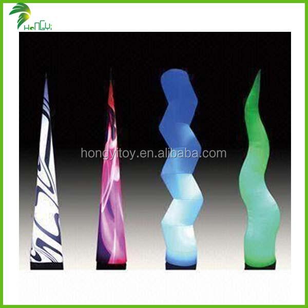 Inflatable-lighting-cones