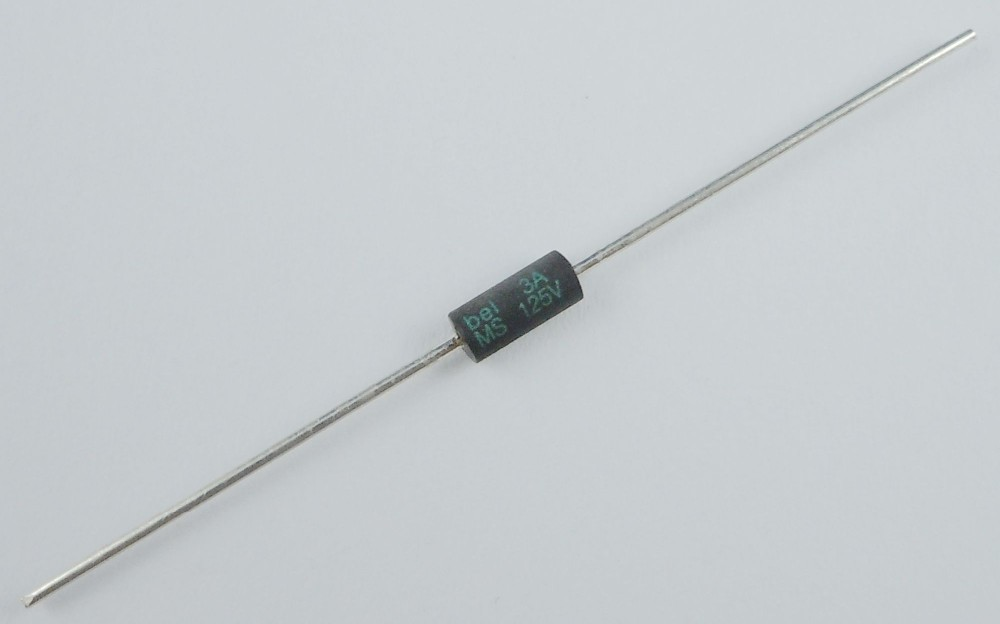 2018 Wholesale Bel Axial MS Fuse 125V 3A 3 Amp From Rudelf
