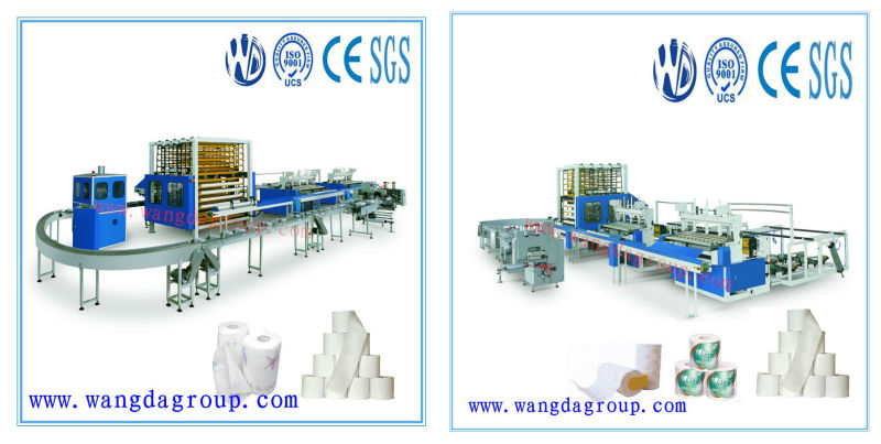 High-Speed Production Line Machine For Producing Toilet Paper