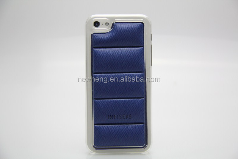 New Arrival PU+PC Leather Korean Body Armor Soft Protective Case for iPhone 5S