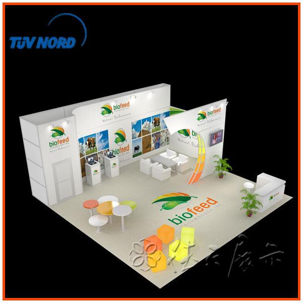 Modern Exhibition Stand Zone : Custom versatile exhibition system booth design indoor