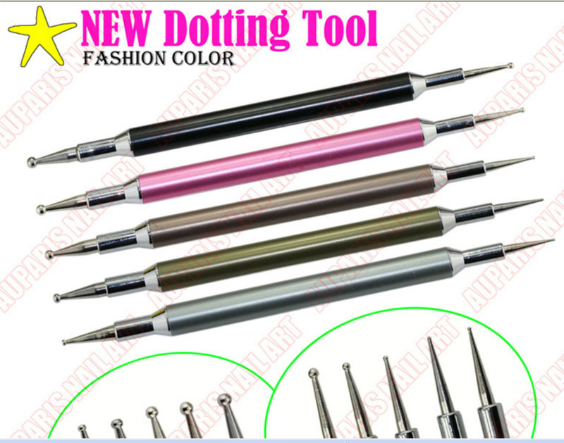 Good Price New Fashion Color Acrylic Handle Double End Nail