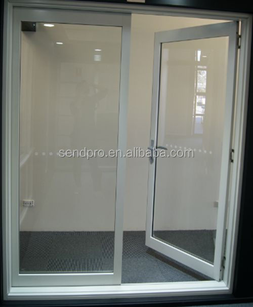 Commercial grade double glazed aluminum in swing french doors buy swing french doors aluminum - Commercial double swing doors ...