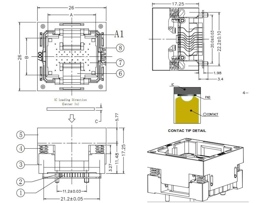 LGA52 Datasheet