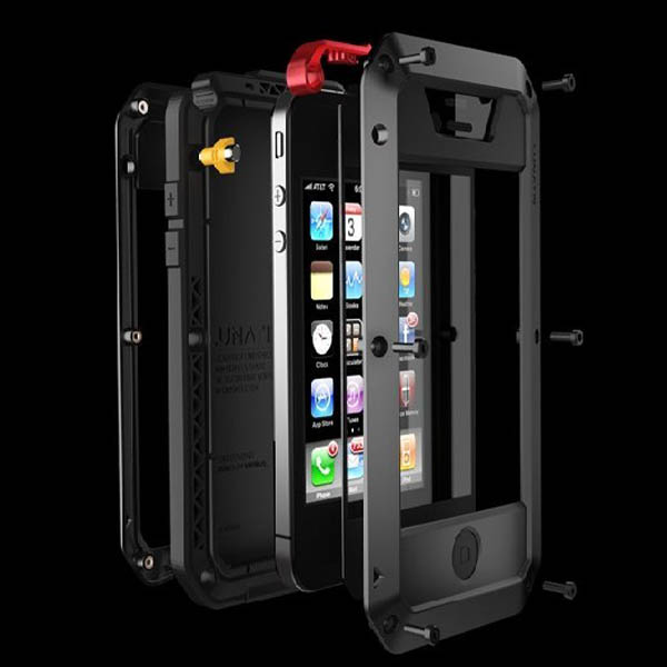 Gorilla Glass metal waterproof case for iphone 5 5s Protective Cover ...
