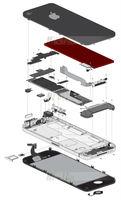 Гибкий кабель для мобильных телефонов X 50 PCS LOT Back Rear Camera With Flex Replacement for iPhone 4 4G