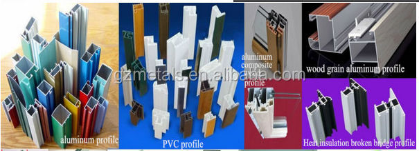 China Metals aluminum sliding window with mosquito screen