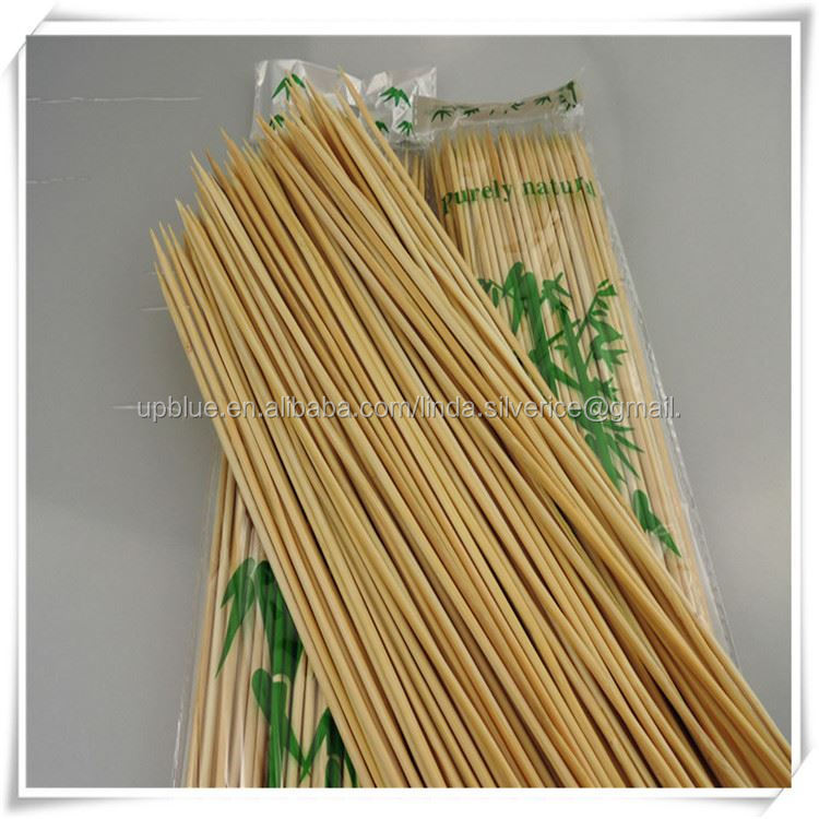 Disposable Bamboo Skewer/Sticks for Fruit / fruit skewer -- elsie@bamboohouse.com.cn