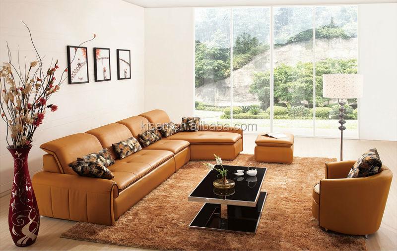 futon slaapbank moderne woonkamer meubels leren bank groen geel ...