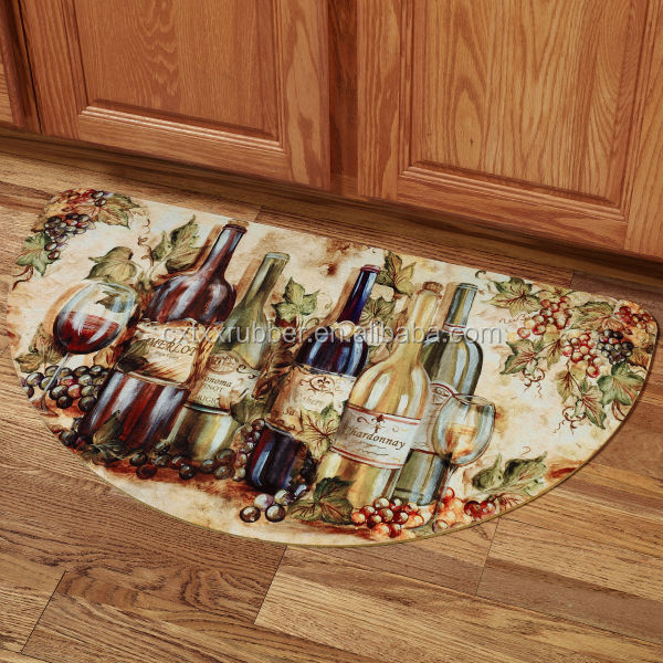 Wine Themed Kitchen Paint Ideas: Decorative Best Kitchen Fruit Mats,Fruit Placemats