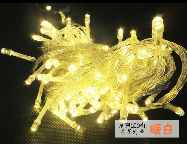 Новогодние светодиодные гирлянды, 10 м фото