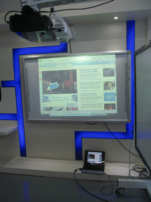 Multi-usuário solução em educação lousa interativa lousa digital inteligente