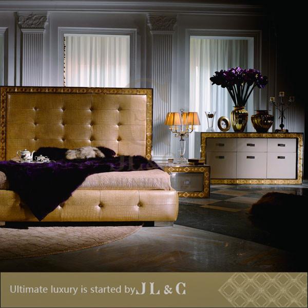 Caldo di vendita camere da letto moderne con decorazioni in ...