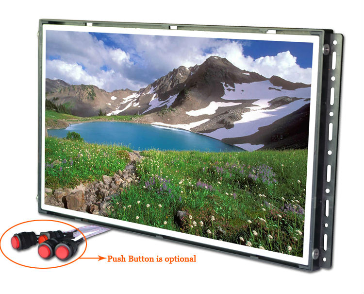 "15.6"" lcd monitor usb media player for advertising"