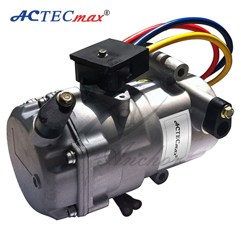 12v dc air conditioner compressor for cars by electric for Air conditioner compressor motor