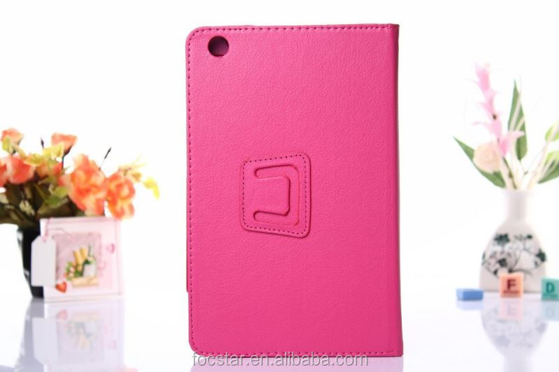 High Quality Litchi Skin Pattern Flip Case for Lenovo A5500 F-LNA5500LC001