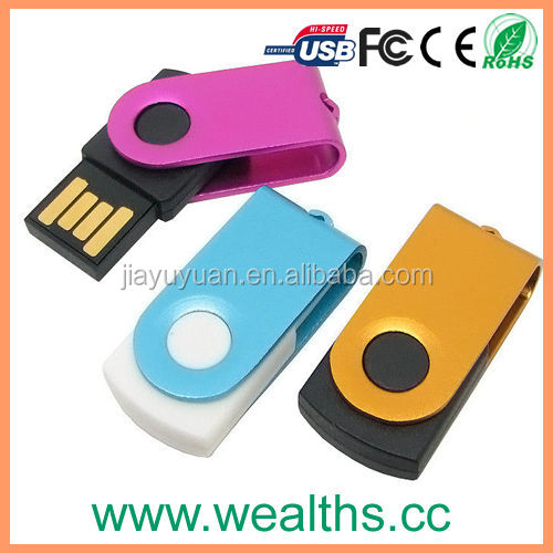 1/2/4/8/16/32gb wholesale swivel usb flash drive/usb sticks/usb pen drive with custom logo,free packing,DHL/UPS/Fedex shipping