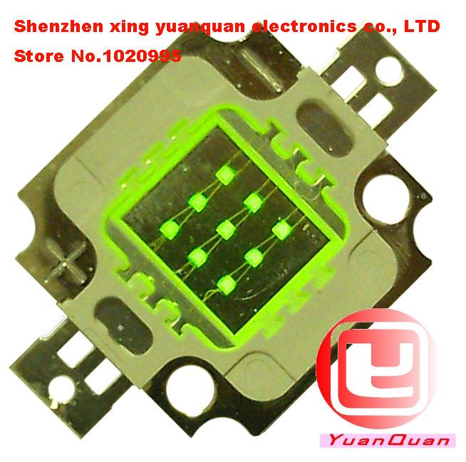 משלוח חינם גבוה כוח LED 10W שבב 400LM~450LM 10pcs/הרבה,רד נורת LED מנורת אור Epileds שבבי 32*32mil