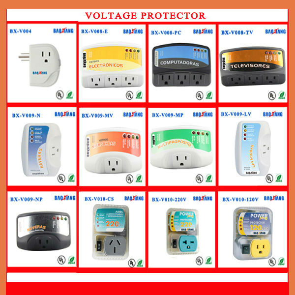 Refrigerator Voltage Surge Protector With Led Display