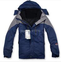 Отлично! открытый восхождение моды одежды двухсекционный спортивные пальто зимние водонепроницаемые мужчин на лыжах жакет размер: s ~ xxl нескольких цветов