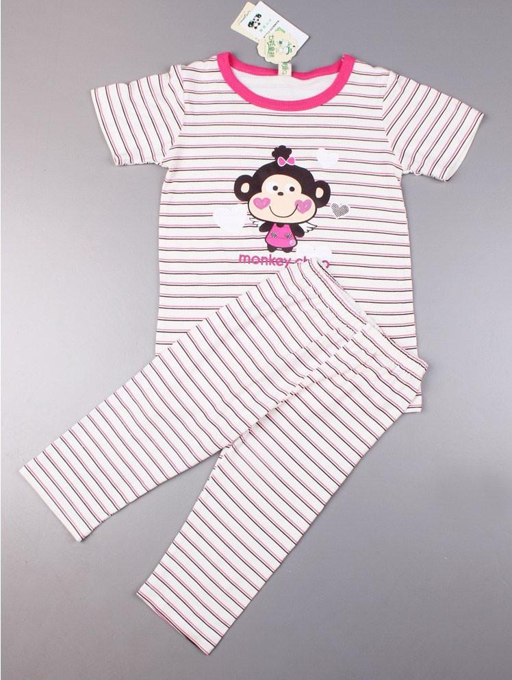 Летом & падения baby одежда замороженные пижамы одежда набор, 5-14 лет мальчик & девушка пижамы хлопок 100%, baby & детские пижамы наборы
