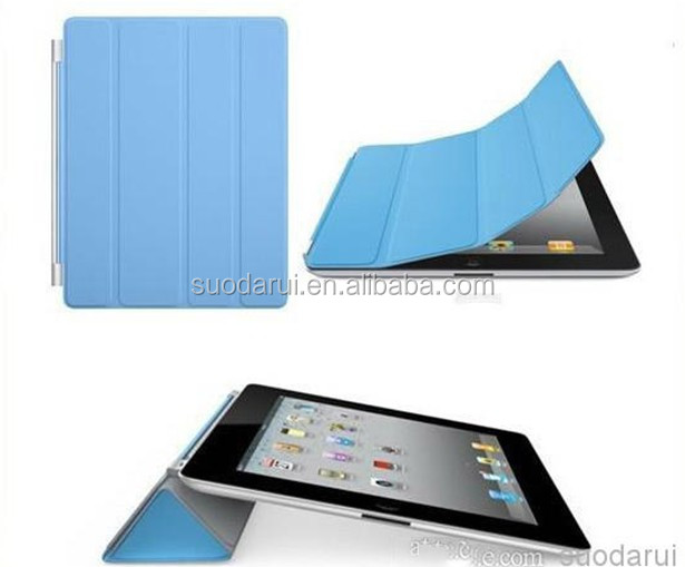 Leather Smart Case Crystal PC Hard Back Cover stand case For iPad Mini 2