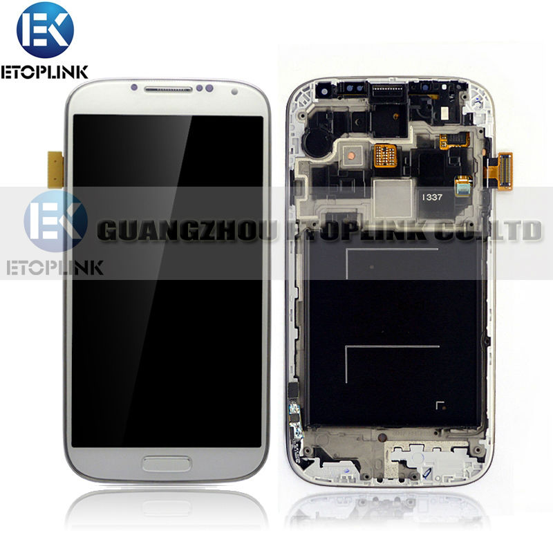low price LCD Screen for Samsung Galaxy S4 LCD with Frame