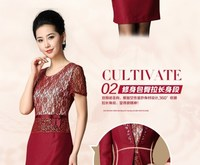 Женский костюм с юбкой fashion tailored skirt female set three quarter sleeve slim female skirt set formal