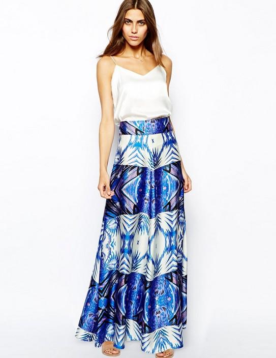 wholesale skirt design chiffon skirt new