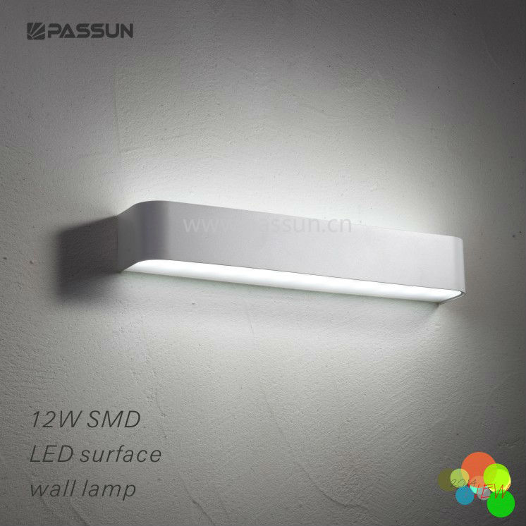 Modern aluminium wall mounted led bed headboard reading for Bed lights wall mounted