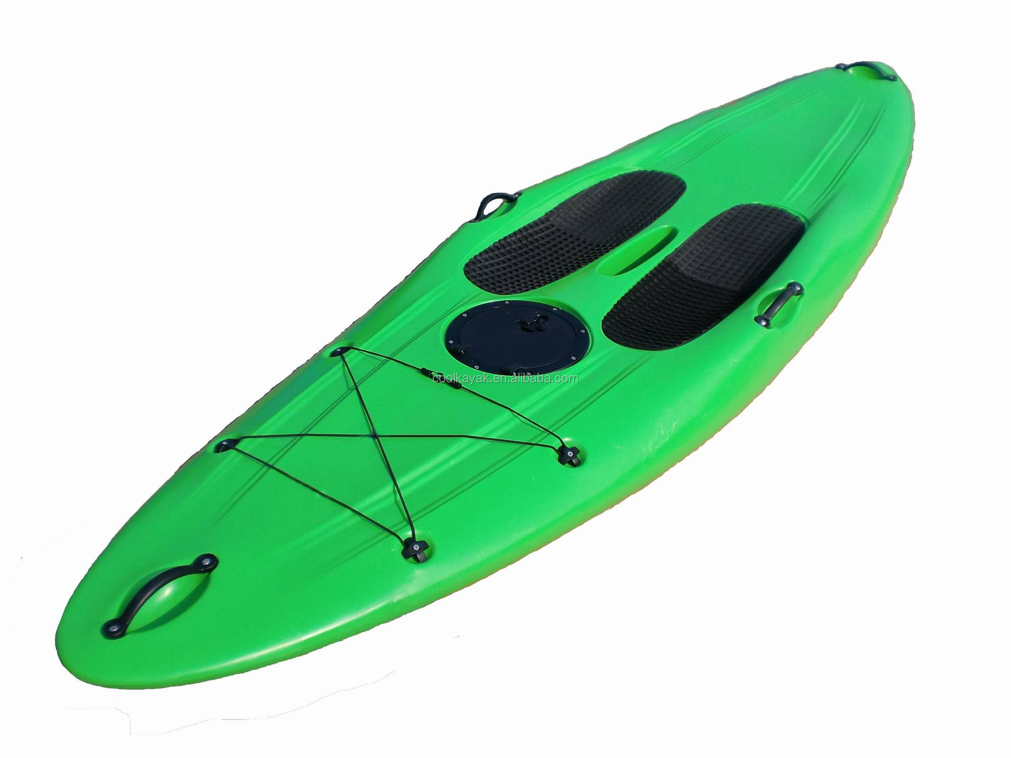 Length no inflatable double sit on top fishing kayak for Best inflatable fishing kayak